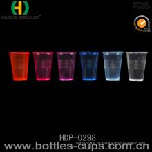 Neon-Wegwerfplastikwasser-Getränk-Plastikschale