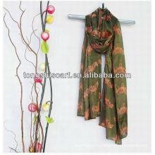 мода печатных шарф зебра