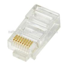 UTP Cat5e cable de conexión cable modular enchufe