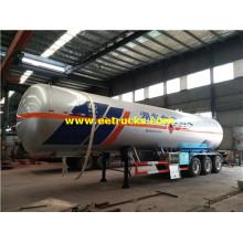 60 CBM 24MT LPG Semitrailer Tankers