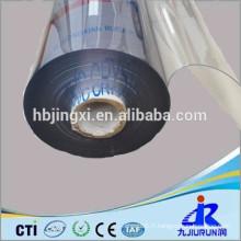 rouleaux de feuille de PVC en plastique