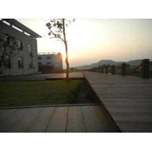 Eco Friendly Ocox WPC Composite Decking Floor