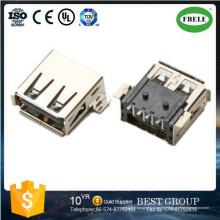 Terminal Mini Conector USB RJ45 Conectores USB Conector USB a prueba de agua (FBELE)