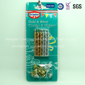 Manufacture New Style Good Quality New Designed Popular Thin Candle
