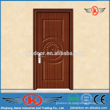 JK-P9052 Entrada de madeira em pvc entrada porta interior