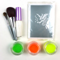 Non toxic waterproof Temporary body glitter tattoo kit
