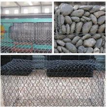 Gabiones galvanizados de malla de alambre neto Gabions