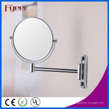 Espelho cosmético da parede de ampliação do lado dobro redondo de Fyeer (M0558)