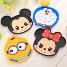Childlike cute cartoon custom photo coasters