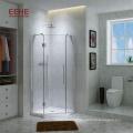 Porte de douche coulissante intérieure en aluminium pour salle de bain