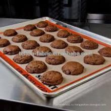 Горячие продажи 2016 силиконовые покрытием стеклоткани выпечки коврик многоразовые вкладыши Пан