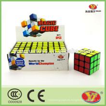 YongJun caja de visualización personalizada cubo rompecabezas mágico 6 piezas por caja