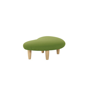 Noguchi Upholstered Bench Fabric Freeform Ottoman