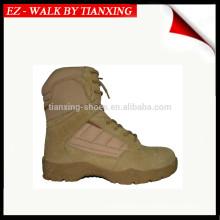 Bottes militaires légères en daim désert-M5