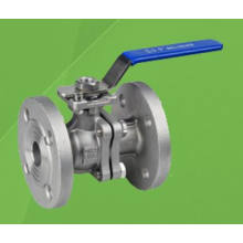 Válvula de bola flotante bridada de 2 piezas con almohadilla de montaje ISO / 5210/5211 (Q41F)