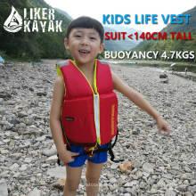 Chaleco de la vida de los niños para los 140cm altos / chaleco salvavidas