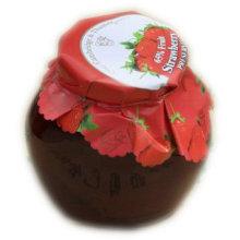 Exportation de confiture de fruits aux fraises aux États-Unis