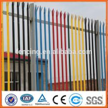 Drehbarer verzinkter, pulverbeschichteter Stahlzaun (SGS FACTORY)