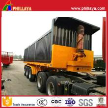 Box öffnen hydraulische selbst Semi Truck Container Dump Kipper