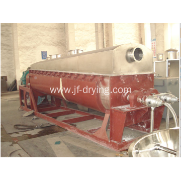 Sludge hollow paddle dryer/drying