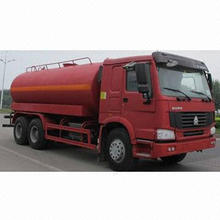 Sprinkler Truck with Automatic Controlling Valve, Special Spraying Head