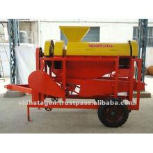 Maquinaria para maíz con tractor