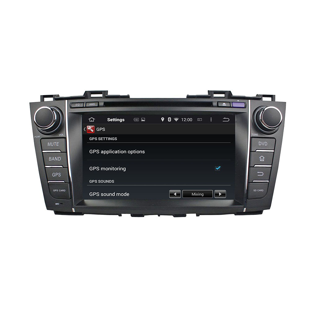 Premacy 2009-2012 car dvd player