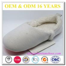 Chaussures d'intérieur à fermeture à glissière