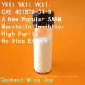 Yk11 CAS 431579-34-9 un nouvel inhibiteur populaire de Sarm Yk11 Myostatin plus fort que les stéroïdes classiques