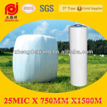 25micX750mmX1500m White Silage Stretch Film