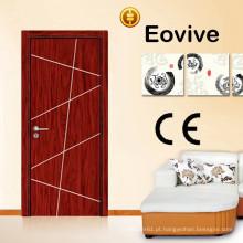 Projetos de porta de madeira moderno exterior venda quente