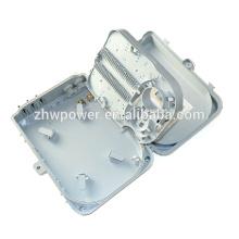 16 port fiber optical distribution box, 16 port Fiber Optic outdoor / indoor plastic terminal box