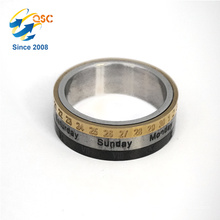 Simple and elegant woman stainless steel ring wholesale