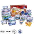 Produits promotionnels en gros Chine récipient en plastique de stockage ensemble de produits locaux
