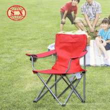 Cadeira de praia cadeira dobrável de metal para camping