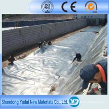 HDPE Geomembrana Revestimiento de estanque de HDPE Revestimiento de estanque de piscifactoría