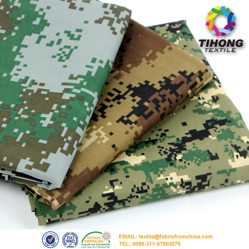 camouflage Uniform Fabric