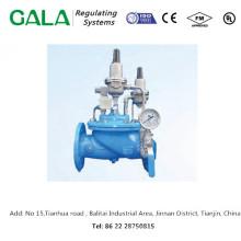 Profesional de alta calidad de metal caliente ventas GALA 1320D doble etapa de presión de reducción de la válvula de gas