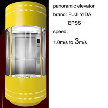 SGS Aprovado 3m / S Speed Elevador Panorâmico para Seightseeing