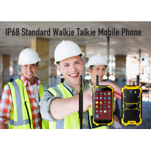 IP68 Standard Walkie Talkie indestructible cell phone
