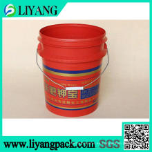 Película de transferencia de calor para cubo de fertilizante de potasa
