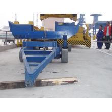 Semi-remorque de transport de charge de conteneur