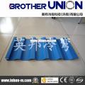 Máquina perfiladora de láminas de techo de zinc