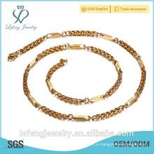 Китай поставщик ювелирных оптовых моды ожерелья цепи 2015