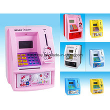 Battery Operated Money Box Toys with Light and Music
