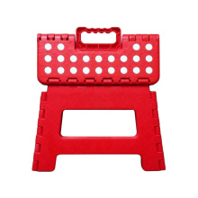 Plastic Folding Step Stool, Portable Small Folding Chair, Outdoor Camping Foldable Stool