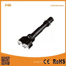 10W Xm-L2 T6 Bulb Two Head Multi-Function Aluminum Flashlight