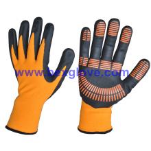 Gant de nitrile, Anti-Slip, Dots sur Palm