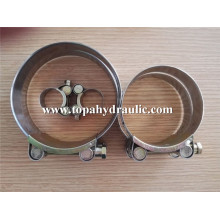 Factory directly provide for China Hose Clamp, Stainless Steel Hose Clamps, Hose Clip Supplier double wire carbon steel T bolt clamps export to Antarctica Supplier