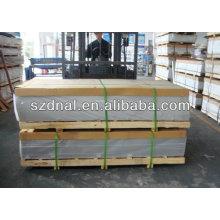 China proveedor 6063 hoja de aluminio con bajo precio